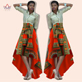 Traditional African Clothing African Print Skirts Womens Bazin Riche Maxi Skirt Dashiki Print Wax Long African Skirt BRW WY424