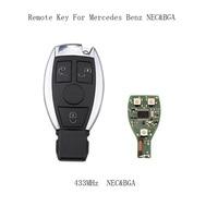 LARATH 2PCS 3 Buttons Smart Remote Car Key For Mercedes Benz Year 2000 NEC BGA Style