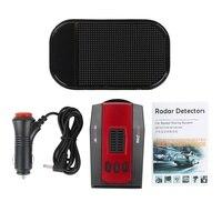 M7 360 Degree Car Radar Detector 16 Band Russia / English LED Display Voice Alert Warning Anti Radar Detector XK NK Ku Ka Laser