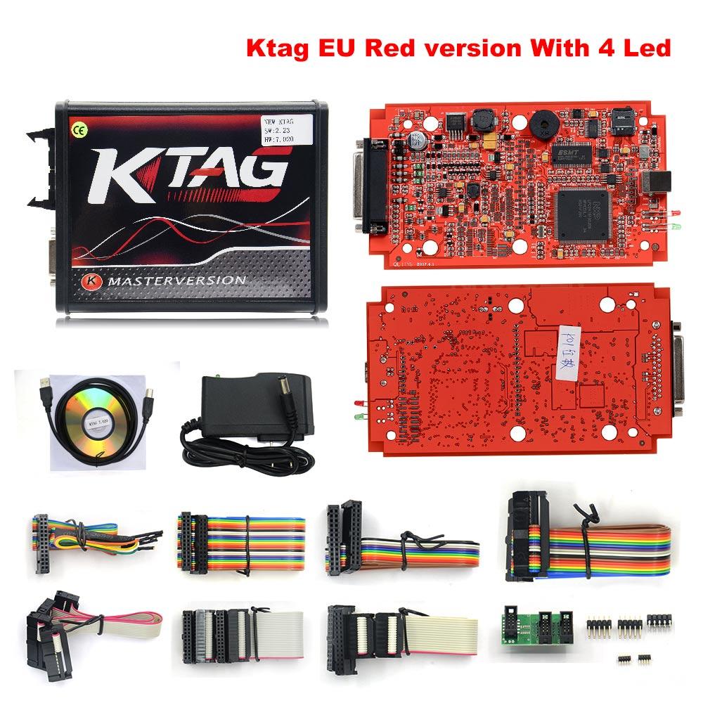 RED KESS Master ECU Chip TAG V7.020 V2 V5.017 SW V2.23 v2.47 2.47  New