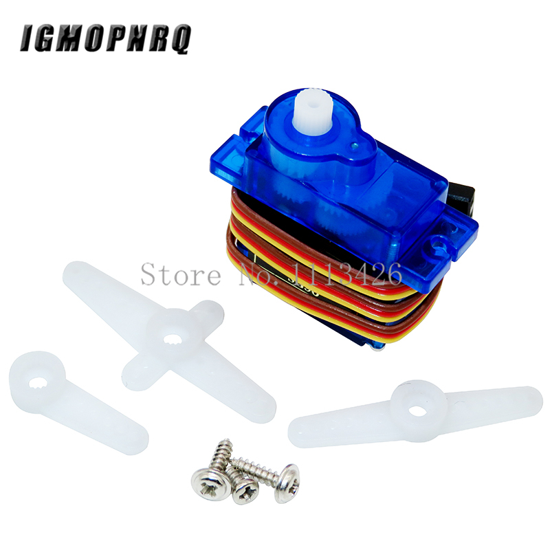 1Pcs Rc Mini Micro 9g 1.6KG Servo SG90 For RC 250 450 Helicopter Airplane Car Boat