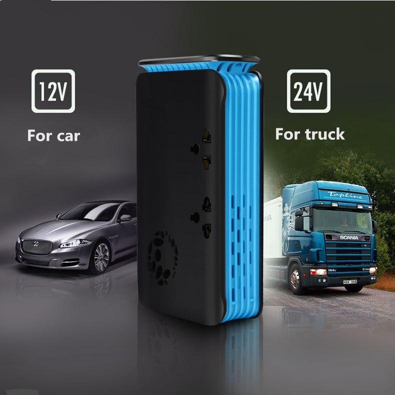 1 stück Auto Inverter Sowohl Für Lkw & Auto DC 24 v zu 220 v AC Auto Ladegerät Buchse 200 watt Mit USB Zigarette Leichter Loch - 4