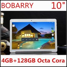 Envío Libre 10 pulgadas 3G 4G LTE tablet pc Octa core 1280*800 5.0MP 4 GB 128 GB Android 5.1 Bluetooth GPS de la tableta 10