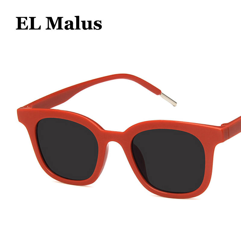 Back To Search Resultsapparel Accessories new Brand Designer Square Red Frame Sunglasses Women Men Blue Black Lens Mirror Vintage Sun Glasses Gafas Eyewear Promoting Health And Curing Diseases el Malus