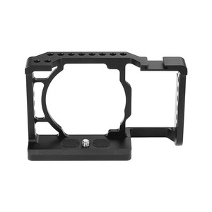 Image 4 - Andoer Camera Cage Video Film Movie Making Stabilizer Aluminum Alloy 1/4 Inch Screw with Cold Shoe Mount for Sony A6500 Camera