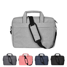 Buy Waterproof Laptop Bag Men Women for Macbook Air Pro 13.3 14.1 15.4 15.6 Laptop Shoulder Handbag Briefcase Cases directly from merchant!
