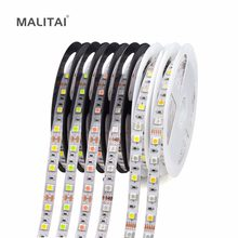 11 Colors 5050 SMD LED Strip light Tape 5M 12V RGB RGBW RGBWW Waterproof Decoration String lamp 60LEDs/M Yellow,Pink,Ice Blue(China)