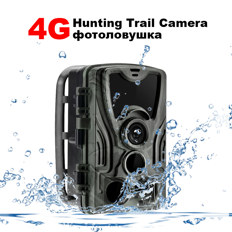 Hunting Camera 4g Trail Cameras HC 801A 16MP 1080P Photo Trap 0 3s Trigger wild Wildlife