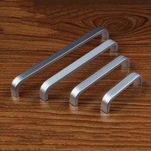 1pc Aluminum Long Cabinet Furniture Door Handles S Bedroom Closet Dresser Kitchen Drawer Pulls Jdh99