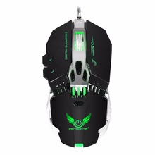 Wired Gaming Mouse X800 Mechanical Macros Define Optical Mouse With 8Button RGB Backlight for Desktop pc Computer for adults цена