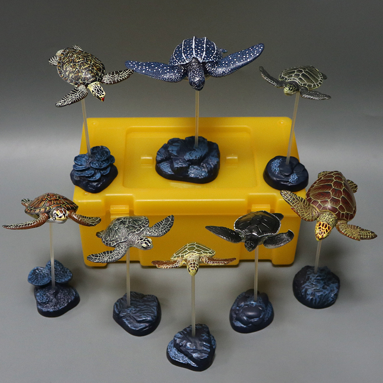 pvc figure simulation animal model Green Turtle Tortoise Stork Simulation Animal Toy Model SET 5pcs set simulation model toy scene decoration cowboy pvc figure rare out of print