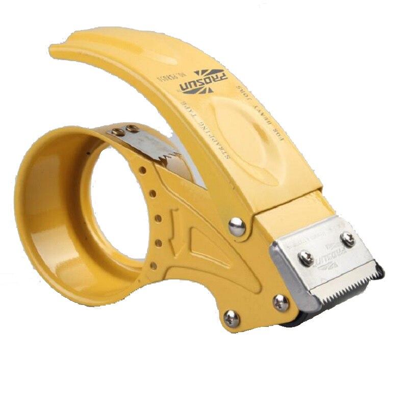 48mm Packaging Tape Dispenser 2 Metal Tape Cutter Packing Seal Dispenser, Random Color 48mm Packaging Tape Dispenser 2 Metal Tape Cutter Packing Seal Dispenser, Random Color