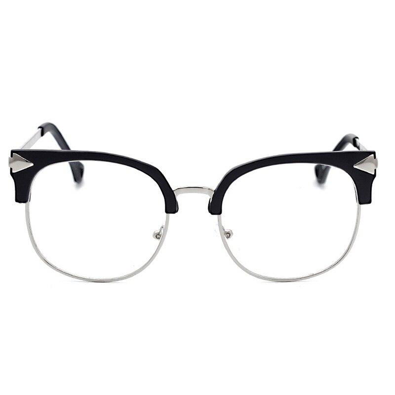 Piccola Piazza Mezza Telaio Occhiali Da Lettura Donna Uomo HD Obiettivo Della Resina Occhiali Da Presbite per la Lettura KR001-024