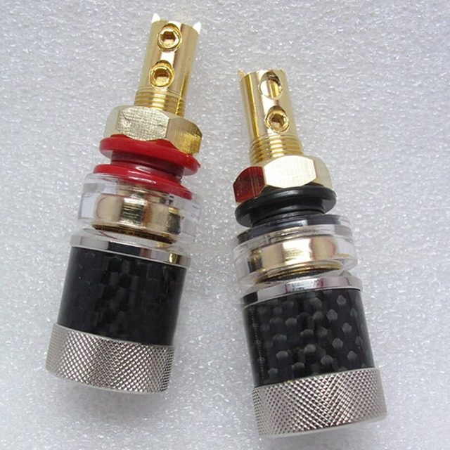 1pcs Free solder plated copper Banana connector high quality Banana plug sockets  Binding Post
