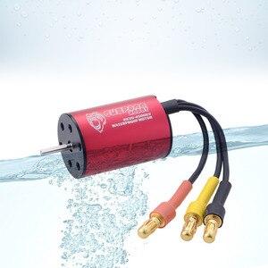 Image 5 - Surpass Hobby bezszczotkowy regulator prędkości 25A ESC + 2030 4500kv silnik wodoodporny do samochodu 1/18 i 1/20 RC
