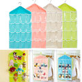 Brand New 16 Pockets Clear Over Door Hanging Bag Shoe Rack Hanger Storage Tidy Organizer Fashion Home NK Gozip