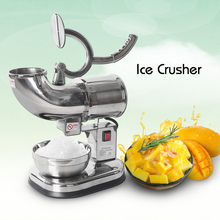 ITOP Commercial High Quality Ice Crushers Shavers Automatic Smoothies Blender Maker For Tea Dessert Shop Bar 110V/220V