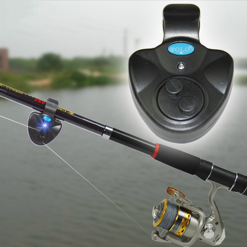 Electronic fishing alarm Cast rod sea night fishing intelligent automatic remind bite Buffer alarm