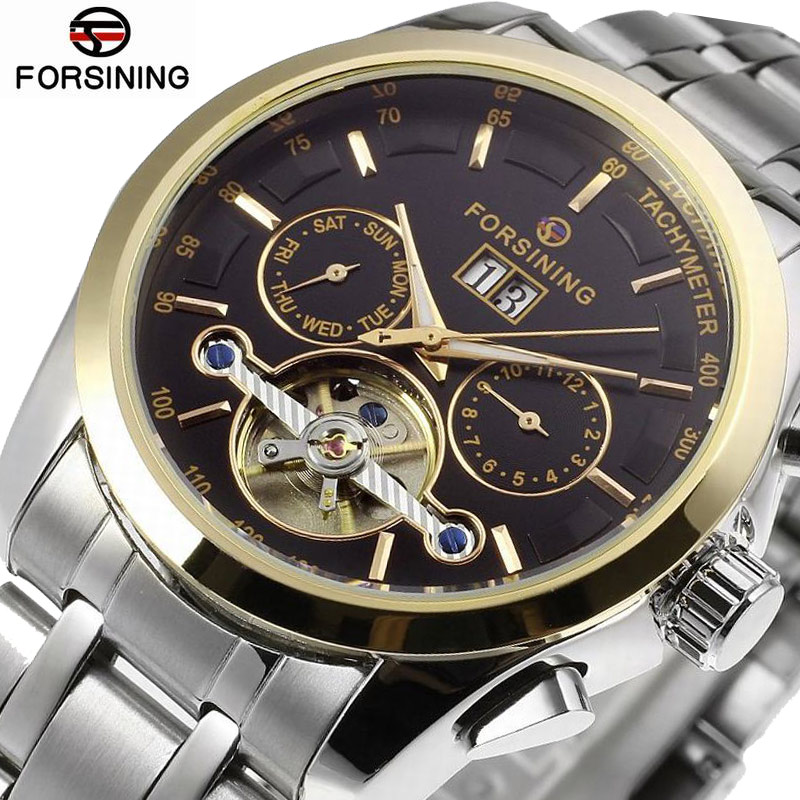 Forsining 2018 Waterproof Mens Watches Top Brand Luxury Automatic Watch Men Fashion Mechanical Mens Watch Silver Skeleton WatchForsining 2018 Waterproof Mens Watches Top Brand Luxury Automatic Watch Men Fashion Mechanical Mens Watch Silver Skeleton Watch