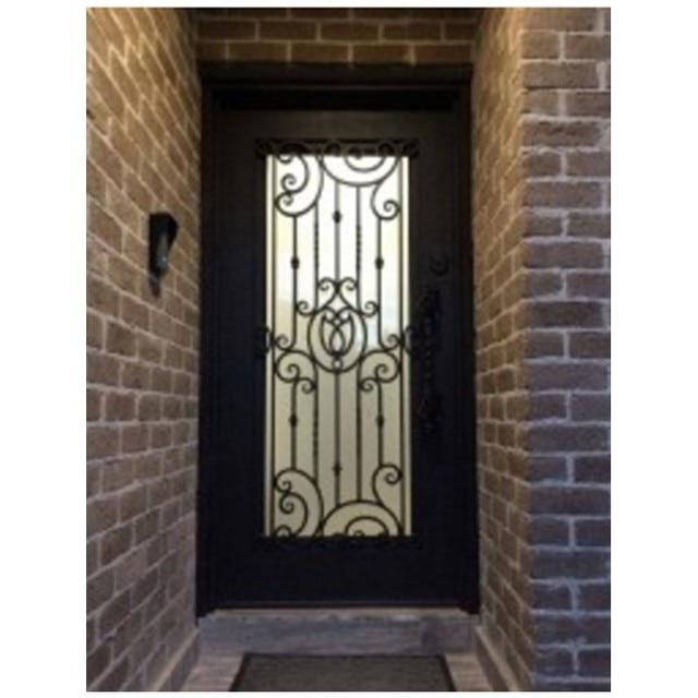 Puertas de entrada de hierro forjado finest obra for Puertas de entrada de hierro