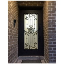 Front Doors From Lowes Curved Wooden Front Doors Wrought Iron Front Doors (China)
