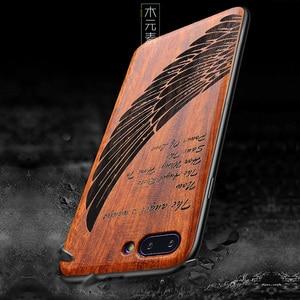 Image 2 - 新華為名誉 10 ケーススリム木製バックカバー tpu バンパーケース huawei 社の名誉 10 電話ケース Honor10