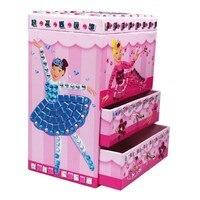 Jewelry Box Child Diy Toy Handmade Three Dimensional S Mosaic Sticker