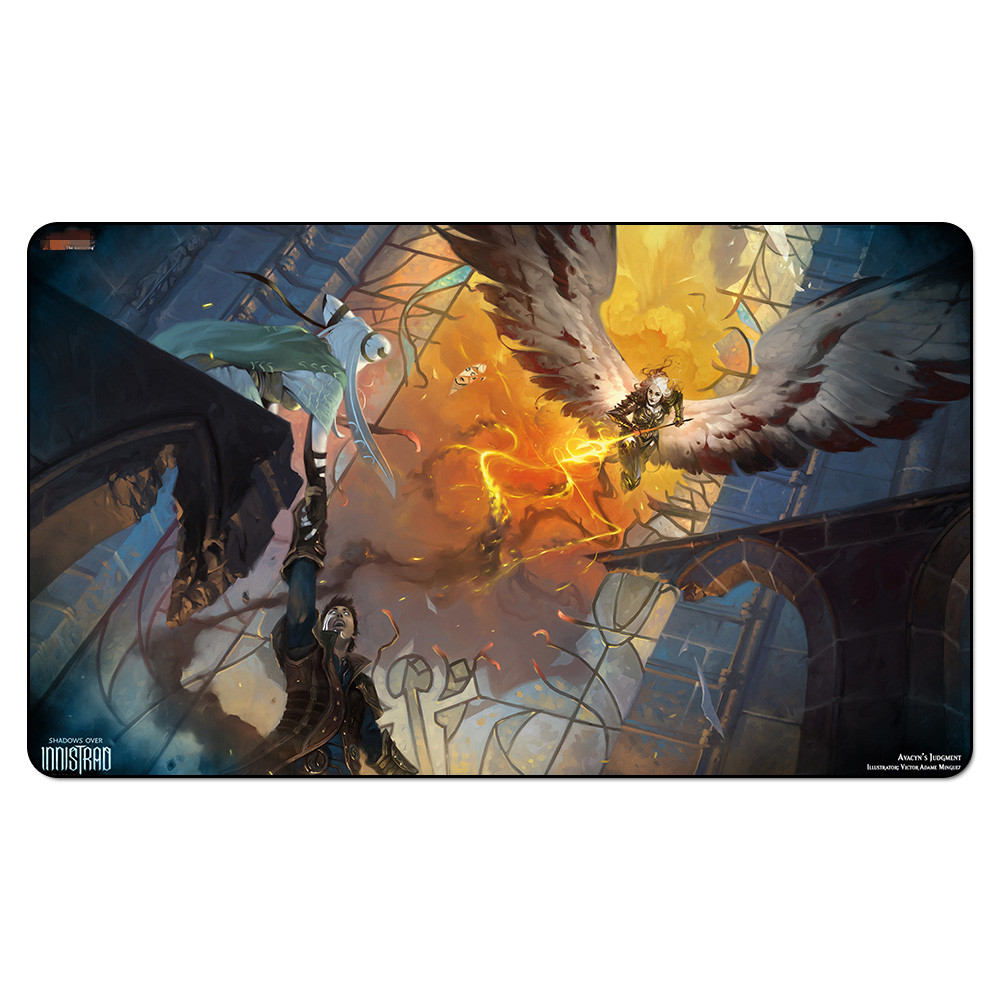 (Avacyns-Judgment) Board Games Playmats, Magical Card The Games Gathering Play Mat, Custom Design Playmat with Free Gift Bag