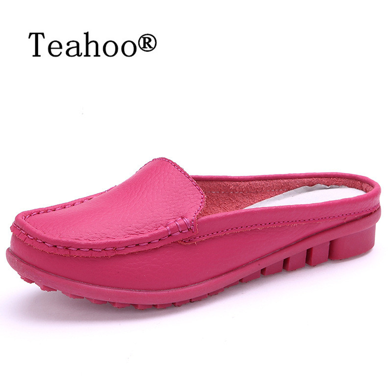 Women Sandals Summer Slippers Fashion Soft bottom Slippers Casual Leather Sandals Shoes Woman Plus Size 35-41 Comfortable Female aiyuqi2018 new genuine leather women summer sandals comfortable fish casual mouth plus size 41 42 43 mother sandals shoes female