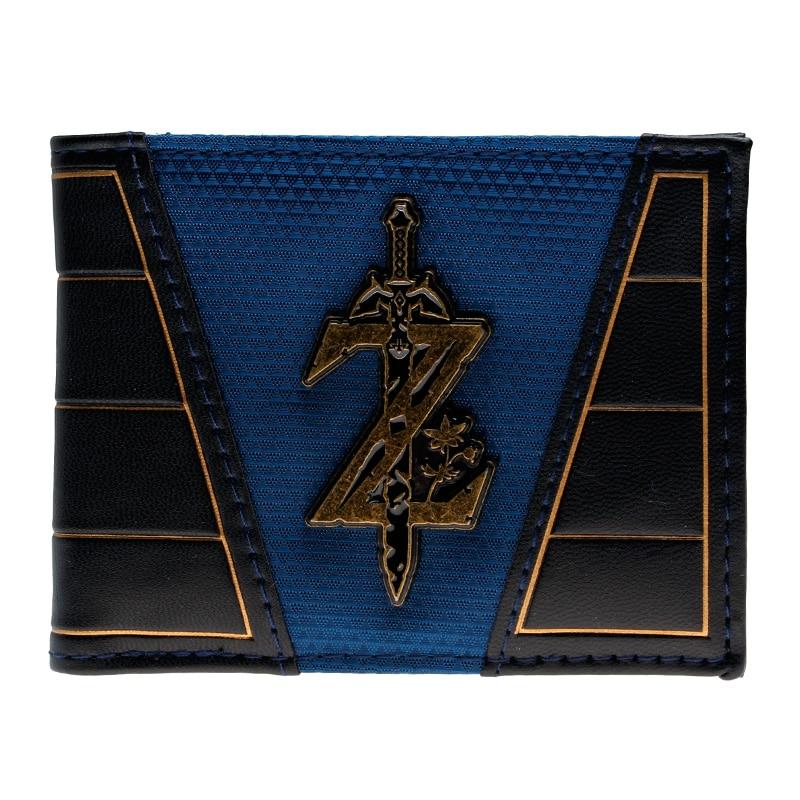 The Legend of Zelda wallet   DFT-2043 zelda wallet bifold link faux leather dft 1857