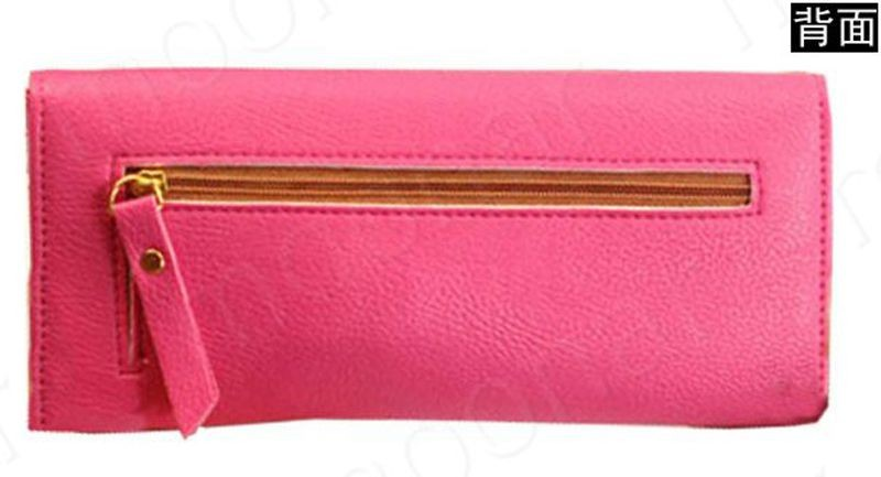 B489 women leather wallet purse (14)