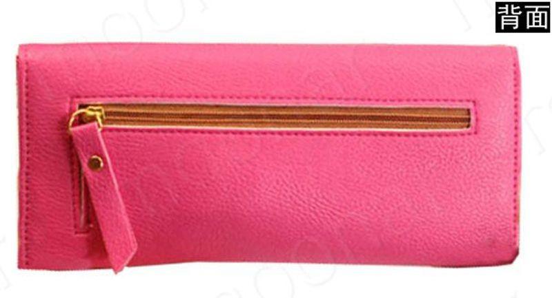 B489 women leather wallet purse (14)