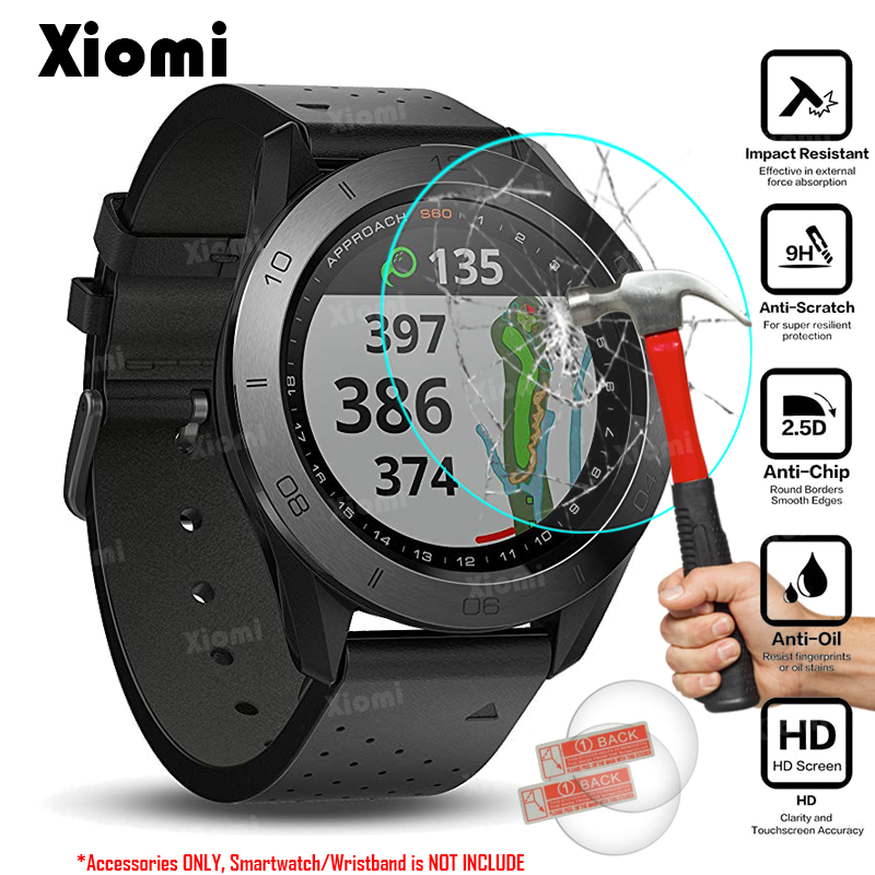 For GPS Golf Watch Garmin Approach S60 Screen Protector