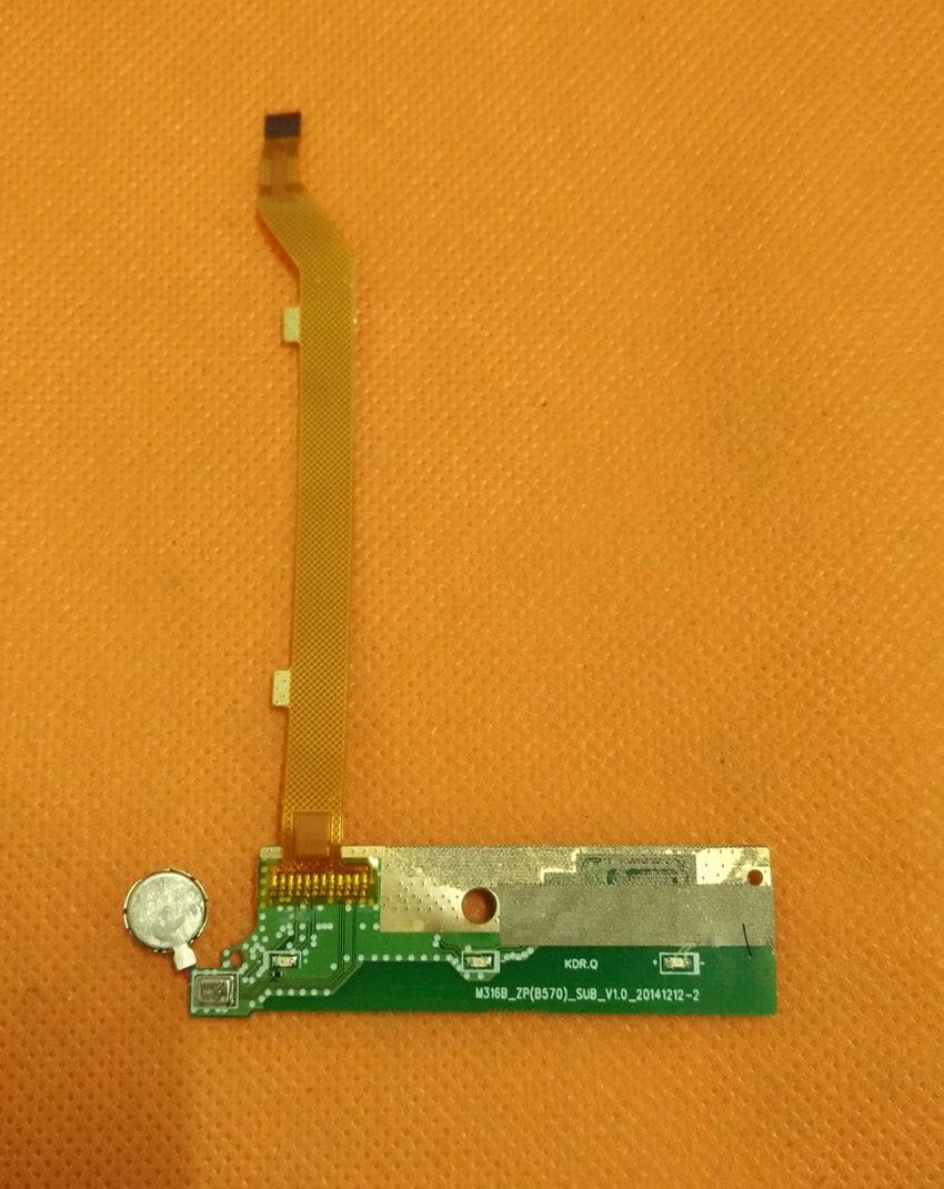 Б/у оригинальная микрофонная плата для материнской платы FPC для ZOPO ZP530 MTK6732 четырехъядерный 5,0 дюймов 1280x720 Бесплатная доставка