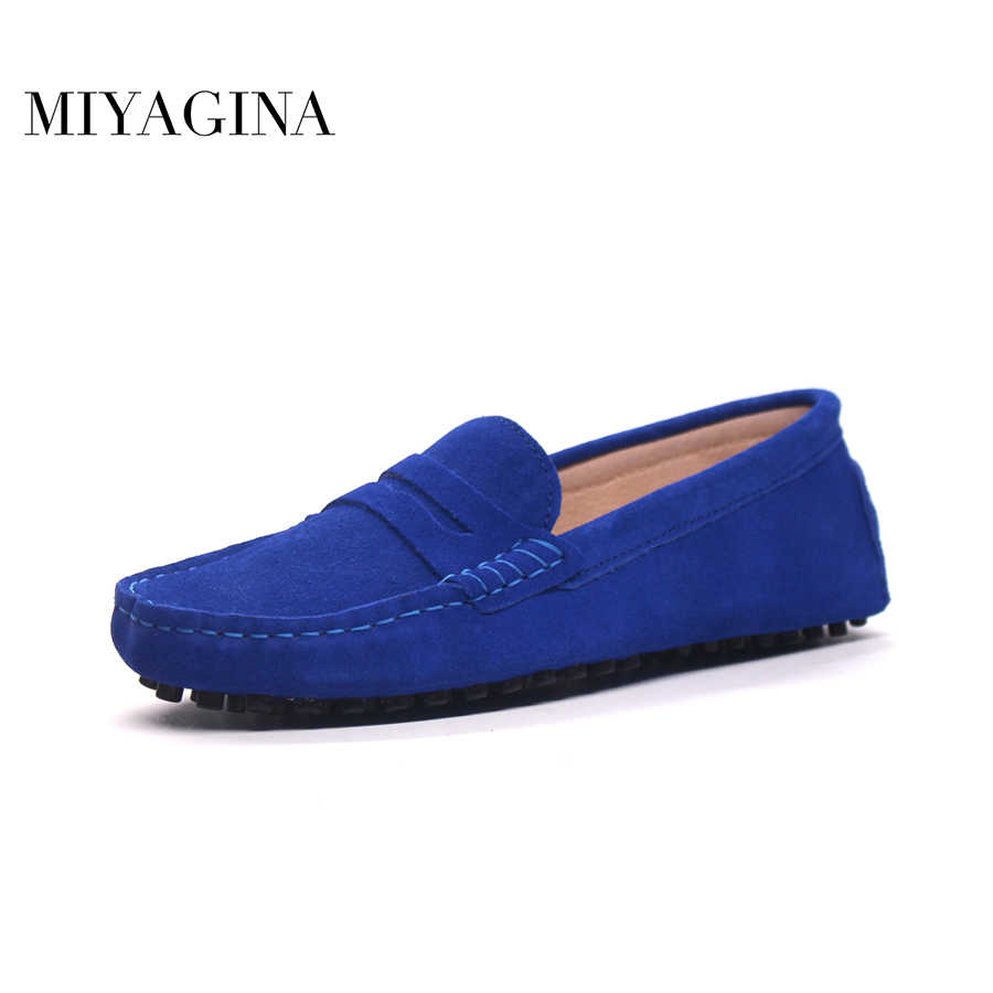 2018 Men loafers moccasins driving shoes men flats shoes genuine leather casual shoes 4 colors size 38-44 plus size 2017 flats new arrival authentic brand quality casual men pu leather loafers shoes plus size 38 44 handmade moccasins shoes