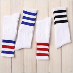 Новый для мужчин/для женщин 3 три хлопчатобумажные носки в полоску Ретро старой школы хип хоп скейт длинные короткие Meias Harajuku белый черный
