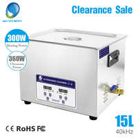 Skymen Ultraschall Reiniger 15L 360W Ultraschall Reinigung Ausrüstung Bad Für Industrielle Metall Teile Dental Klinik Labor Werkzeuge
