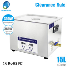 Skymen Ultrasonic Cleaner 15L 360W Ultrasound Cleaning Equipment Bath For Industrial Metal Parts Dental Clinic Lab Tools