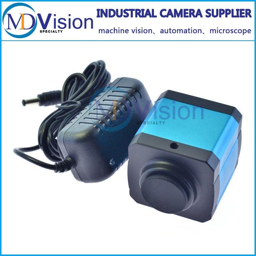 14MP HDMI USB2.0 Промышленности Камера TF Видео Микроскоп Цифровой Окуляр w/C-mount