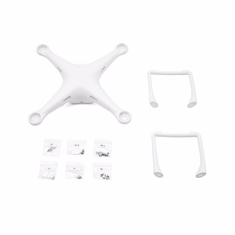 DJI Body Shell for DJI Phantom 2 Standard Quadcopter Spare Parts DJI-PTM08 Upper Lower cover with Landing Gear