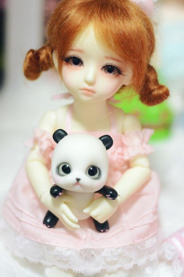 1/6 YOSD BJD wig   Guyomi Mohair Wig   6-7inch doll accessories 1 6 yosd bjd wig guyomi mohair wig 6 7inch doll accessories