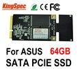 Kingspec Мини PCIE SATA III II 3*5 см 3*7 см SSD диск 64 ГБ твердотельные накопители 4-канальный для asus Eee PC s101 900 900A 901