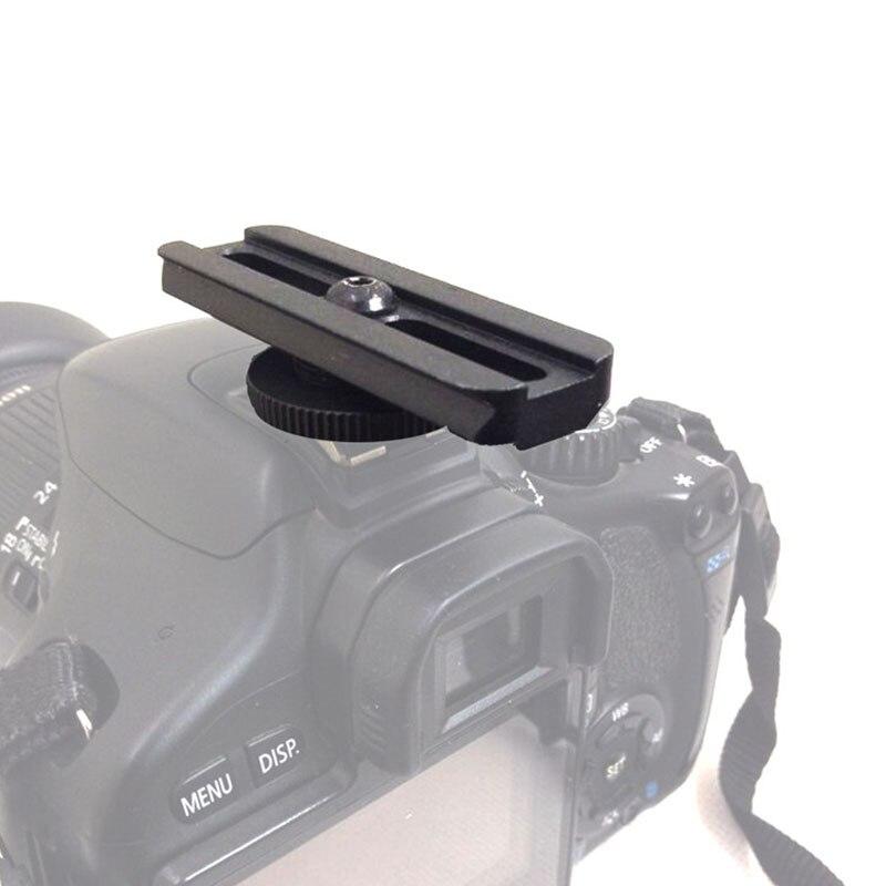 Support de Rail en aluminium 21mm pour portée de visée à point rouge adaptateur de chaussure chaude de remplacement pour Canon/Nikon DSLR caméra photographie chasse