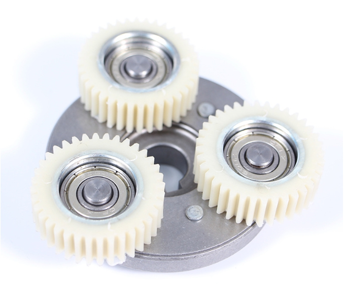 3pcs 36 Teeth 38mm Nylon Electronic Motor Gear 608Z Ball Bearing Gears For Befang And Other Electrical Bike Bicycle Tricycle
