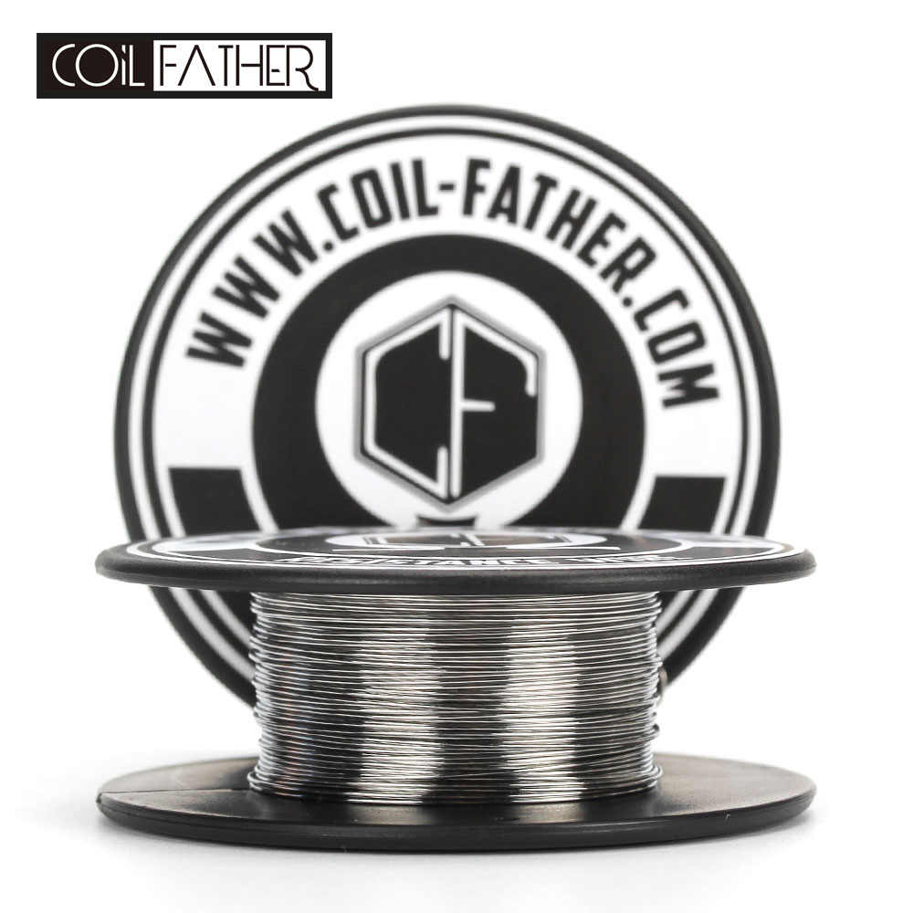 Coil Father A1 Coil Wire Roll High Quality Coil Heating Wire For Electronic Cigarette RDA Wire Atomizer DIY Coils
