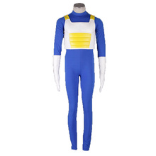 Dragon Ball Vegeta Cosplay Costume with gloves 3th Version Custom