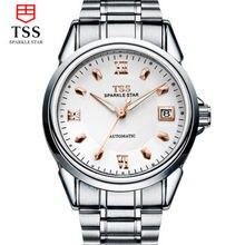 TSS Hombres Mecánicos Relojes Hombres Marca de Lujo de Acero Completo Impermeable 50 m Negocios Automáticos Relojes de Pulsera Para Hombres relogio masculino
