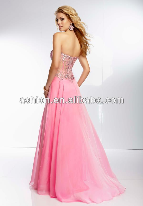 She fashions prom dresses 72