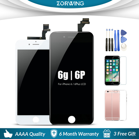 AAA Quality Mobile Phone Lcds For iPhone 6 6Plus Display Touch Screen Replacement For iPhone 5s 6s Plus LCD Pantalla 4.7