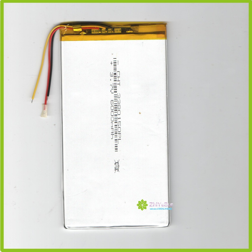 3380150 NEW <font><b>3.7V</b></font> <font><b>6000mAh</b></font> Thickness3.3mm width80mm length150mm <font><b>tablet</b></font> PC <font><b>lithium</b></font> <font><b>polymer</b></font> Liter energy <font><b>battery</b></font> image